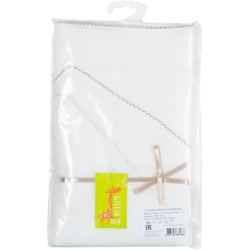 Комплект для новорожденного (пеленка большая, салфетка)