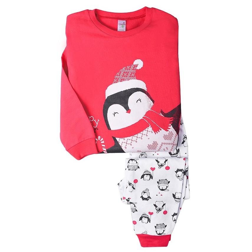 "Пижама на футере ""Пингвин"""