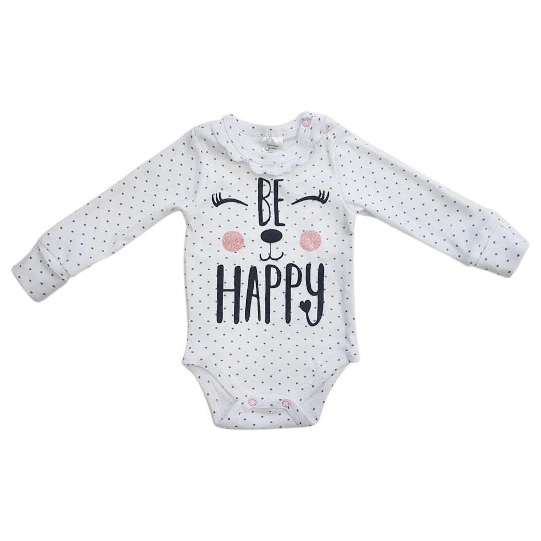 """Боди для новорожденных """"Be Happy"""""""