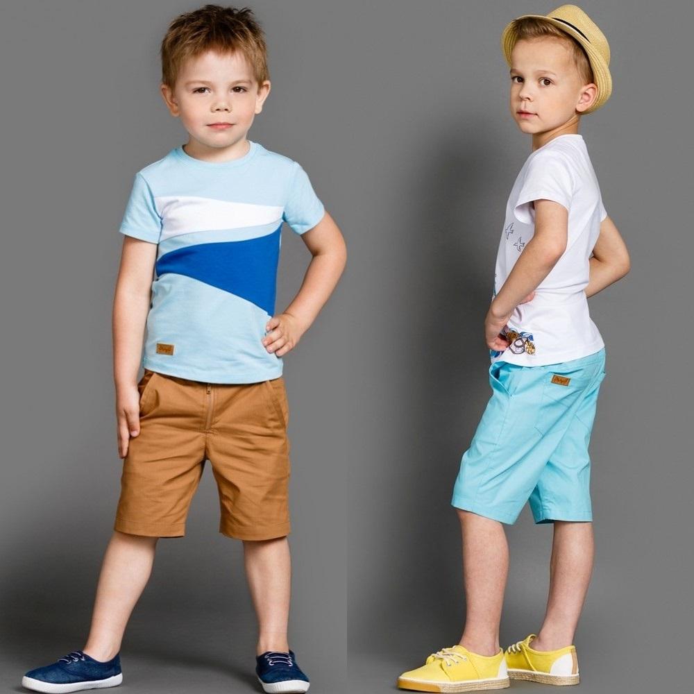 """Бриджи-шорты для мальчика """"Лазурный берег"""""""