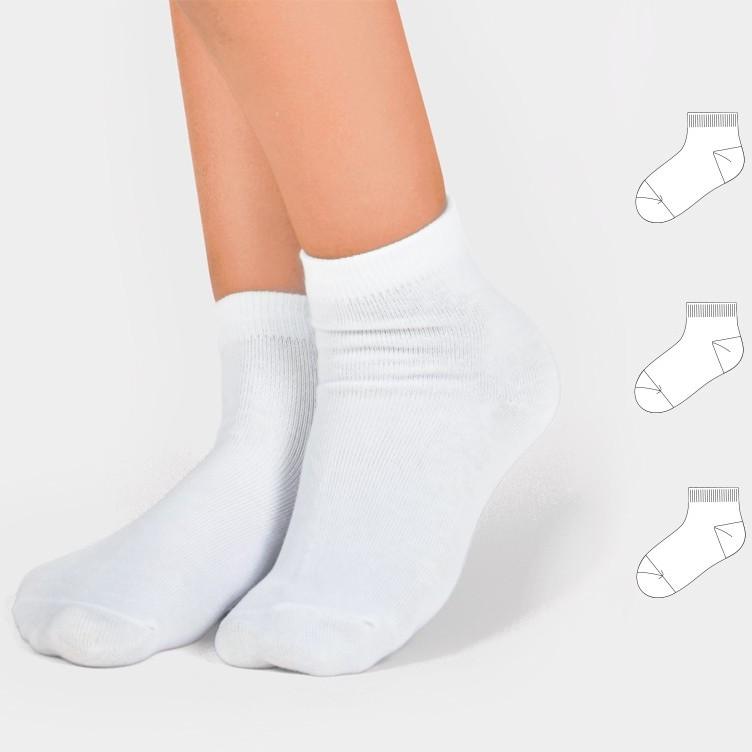 """Носки детские """"Белые"""" 3шт."""