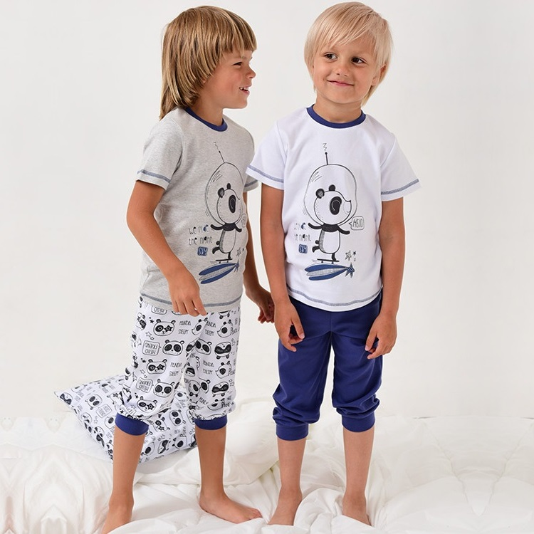 """Пижама с кор.рукавом """"Панда"""""""