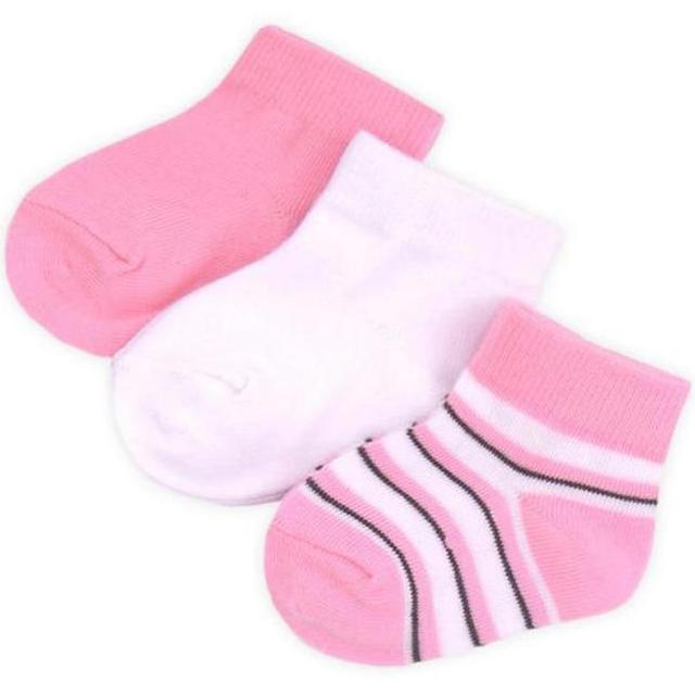 "Носки ""Розовые, белые"" 3шт."