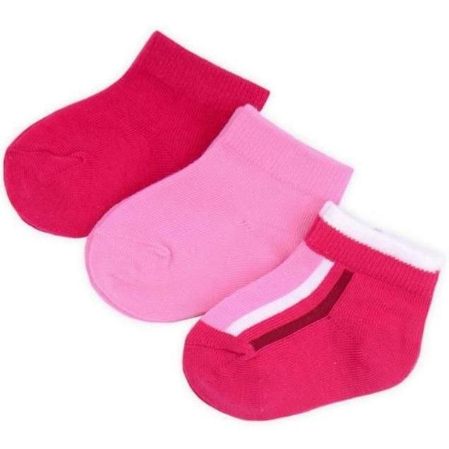 """Носки """"Розовые, фуксия"""" 3шт."""