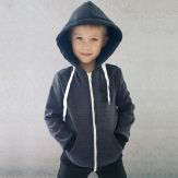 Толстовка для мальчика с капюшоном New Born