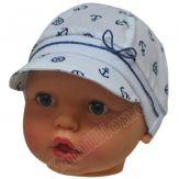 """Кепка для малыша """"Штурвал"""""""