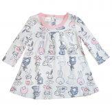 """Платье для девочек """"Кролики"""""""