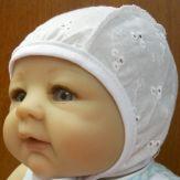 """Чепчик для новорожденного """"Батист"""""""