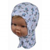 """Шапка-шлем для малыша """"Аист"""" 46-48"""